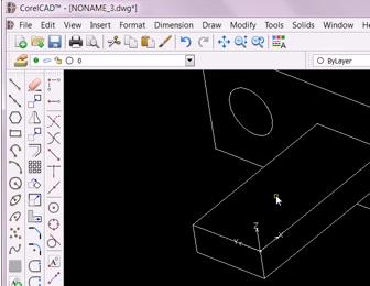 corelcad s custom coordinate system corelcad technical graphics rh community coreldraw com CorelCAD Vs. AutoCAD CorelCAD Vs. AutoCAD