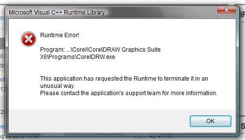 Coreldraw Runtime Error Coreldraw Graphics Suite X6 Coreldraw