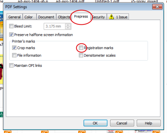 how to add crop marks in coreldraw