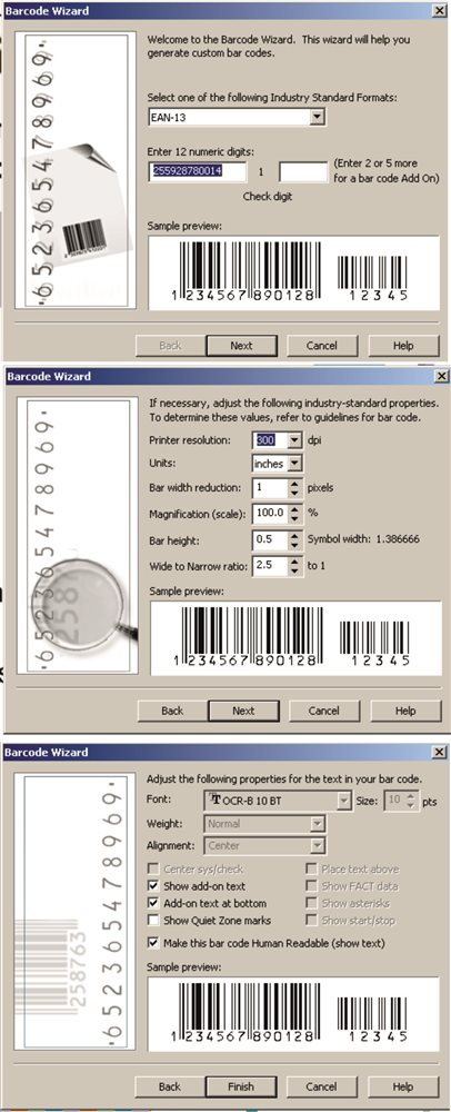 Facing Problems While Using The Barcode Tool Coreldraw X6
