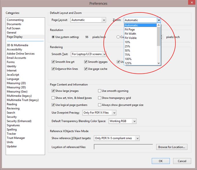 shrink pdf file size adobe reader
