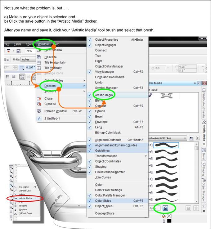 creating a brush stroke coreldraw x6 coreldraw graphics suite x6 rh community coreldraw com CorelDRAW Graphics Suite X8 CorelDRAW Art
