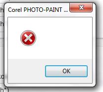 BUG PSD export error text object Corel PHOTO PAINT X6