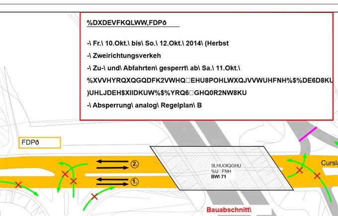 PDF-Import (Autodesk AutoCAD Civil 3D 2014 - German) - CorelDRAW