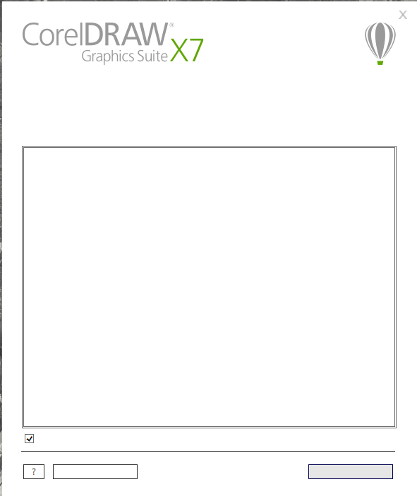 corel draw x7 setup with crack