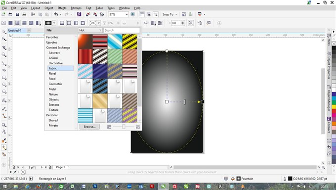 how to use transparency tool in coreldraw x6