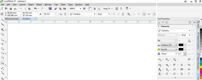 Bold option greyed out in Cambria, but works for ariel - CorelDRAW