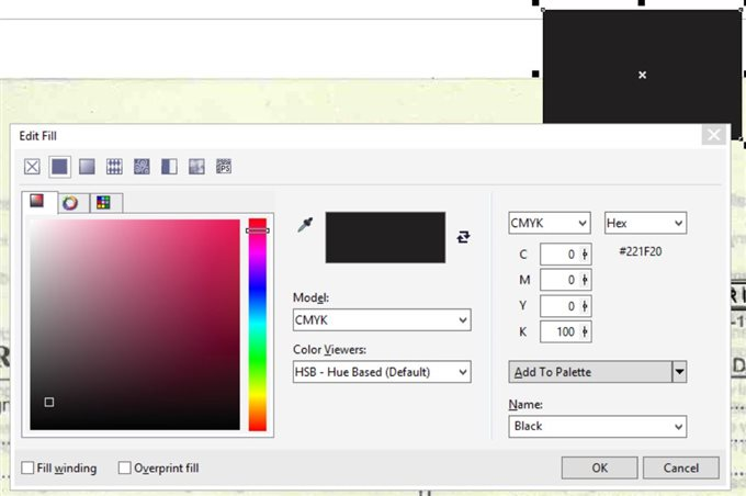 Drawing Lines In Coreldraw : Uniform fill shift f dialogue box doesn t go back using esc