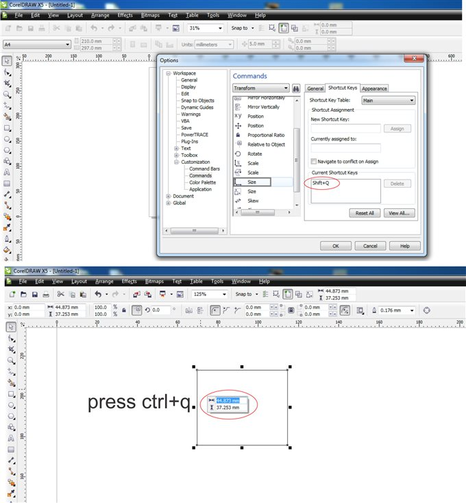 how to vectorize an image in corel draw x7
